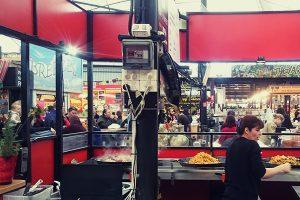 Food, food & more food at Fremantle markets