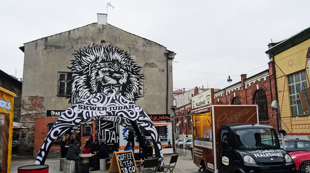 Street food & street art in Kazimierz