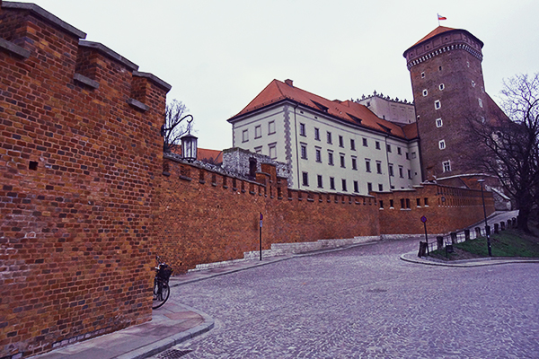 The tower of Wawel castle