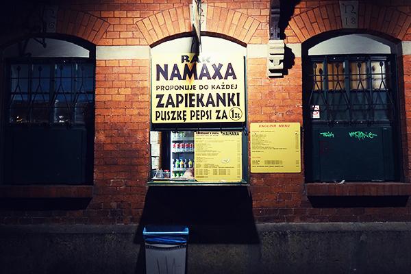 Zapiekanki at Plac Nowy