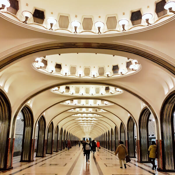 Moscow S Most Beautiful Metro Stations Quokka Travel