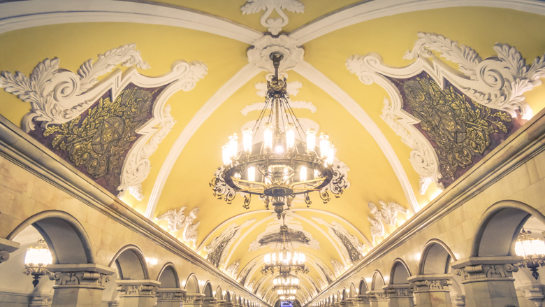 Most Beautiful Metro Stations in Moscow