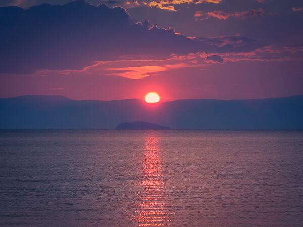 Olkhon Island Siberian Sunsets Over Lake Baikal Quokka
