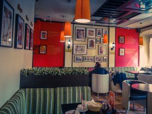 Travellers Cafe, coffee in Irkutsk